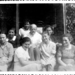 1934 - Korczak & the housekeepers in the summer camp.