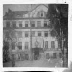1928 - The front of the home. One of the first pictures which were taken by Shlomo.